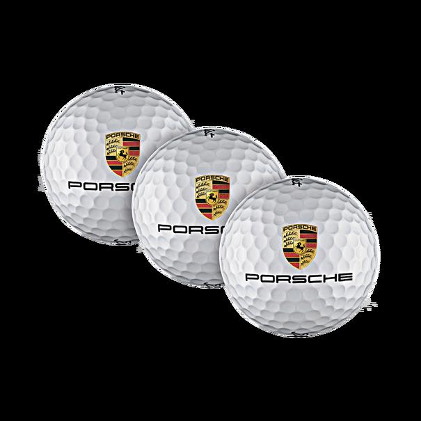 Porsche Golfballen, Tour Soft, 3 stuks