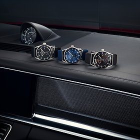 Porsche Sport Chronograaf Subsecond Titanium&Black, Sport Chrono Collectie