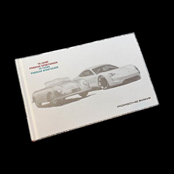 Boek 70 Jaar Porsche Sportscars, engelstalig