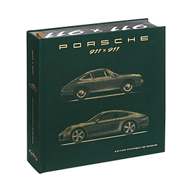 Porsche Museum boek 911 x 911