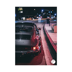 Porsche 964 Art Posterset door Type7