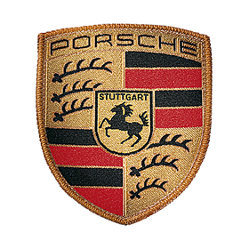 Badge - Porsche embleem