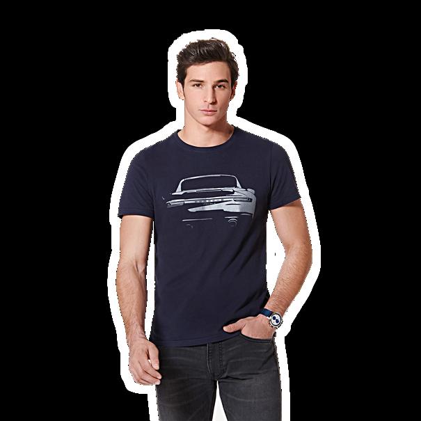 Porsche T-Shirt, unisex, Turbo Collectie