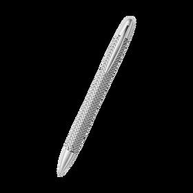 Porsche Tec Flex Ballpoint Pen, roestvrij staal, zilver