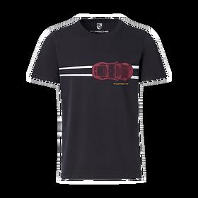Porsche T-Shirt, unisex, Heritage collectie