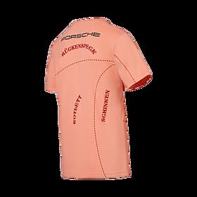 """Porsche T-shirt unisex, Le Mans """"Pink Pig"""", Motorsport Collectie"""