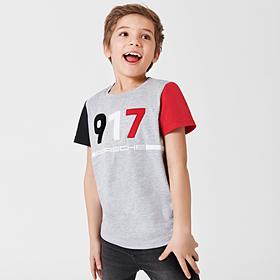Porsche T-shirt, kinderen, Salzburg collectie