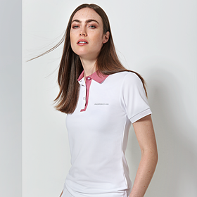 Porsche Poloshirt, dames Taycan Collectie