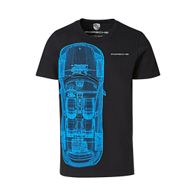 Porsche T-Shirt, unisex, Taycan Collectie