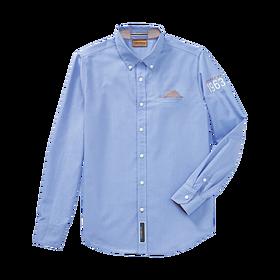 Porsche Overhemd, heren, lichtblauw - Classic Collectie