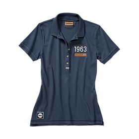 Porsche Polo shirt dames, donkerblauw - Classic Collectie