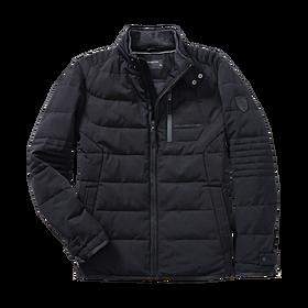 Porsche Gewatteerde jas, heren, zwart - Essential Collectie
