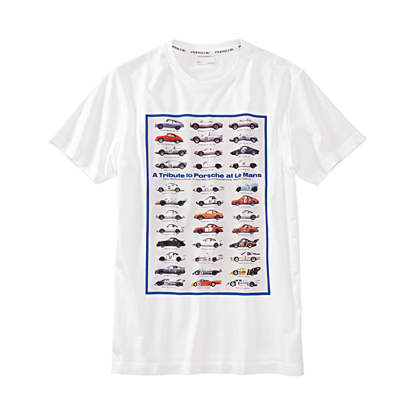 T-shirt - A tribute to Porsche