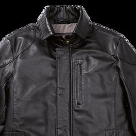 Porsche Lederen jas, heren, zwart - Classic Collectie