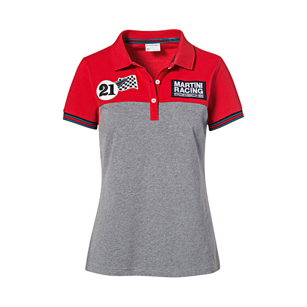 Porsche Poloshirt dames, MARTINI RACING