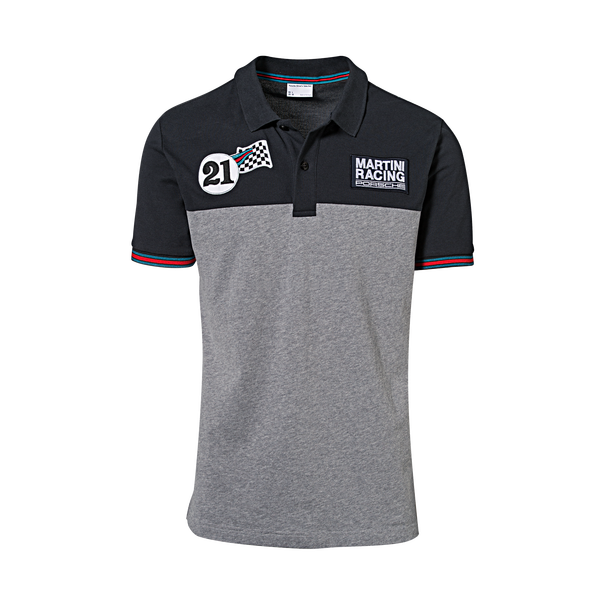 Porsche Poloshirt heren, MARTINI RACING