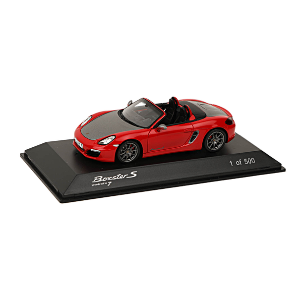 Porsche Boxster S Red7 (987), Limited Edition, 1:43