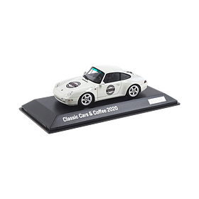 911 Carrera S (993), Classic Cars & Coffee 2020 Porsche Leipzig, Limited Edition, 1:43