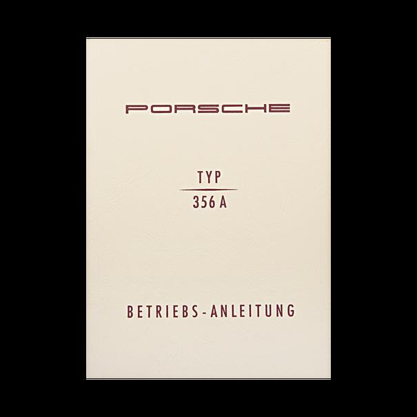 Porsche Instructieboekje voor 356 A (Duits) – modeljaar 1955–1959