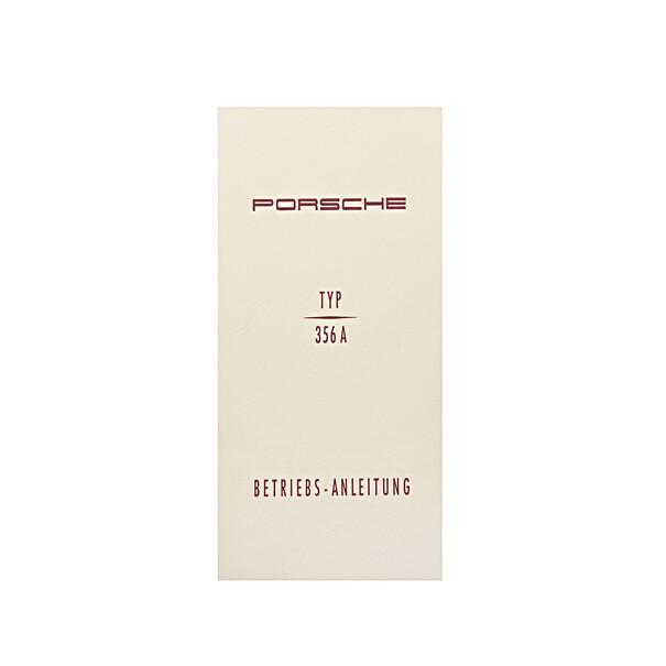 Porsche Instructieboekje voor 356 A (Engels) – modeljaar 1955–1959