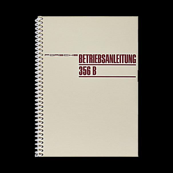 Porsche Instructieboekje voor 356 B T6 (Engels) – modeljaar 1961–1963