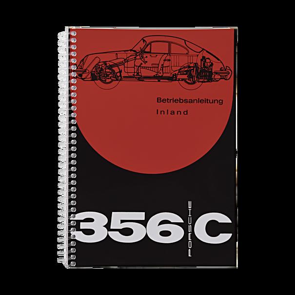 Porsche Instructieboekje voor 356 C (Duits) – modeljaar 1963–1965