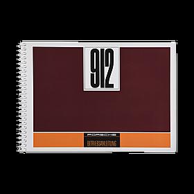 Porsche Instructieboekje voor 912 (Engels) – modeljaar 1967