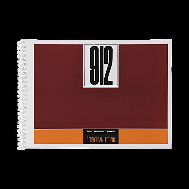 Porsche Instructieboekje voor 912 (Duits) – modeljaar 1968