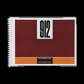 Porsche Instructieboekje voor 912 (Engels) – modeljaar 1968