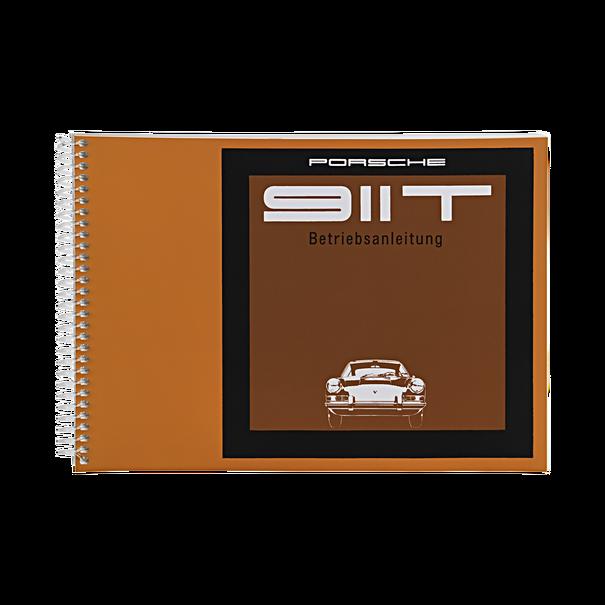Porsche Instructieboekje voor 911 T (Duits) – modeljaar 1968