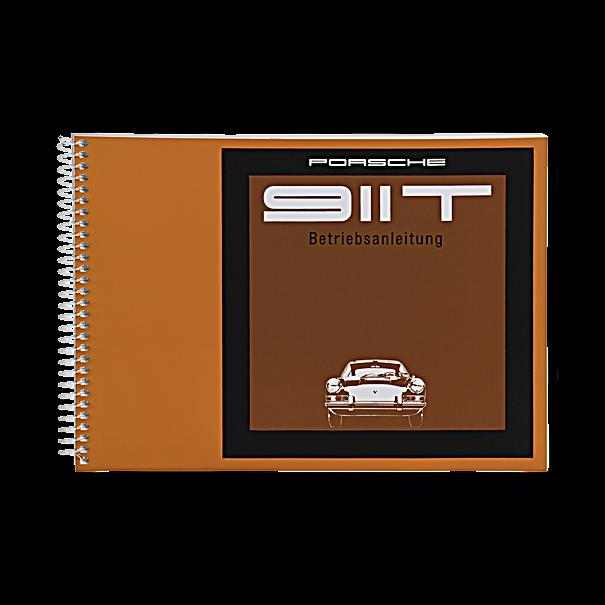 Porsche Instructieboekje voor 911 T (Engels) – modeljaar 1968