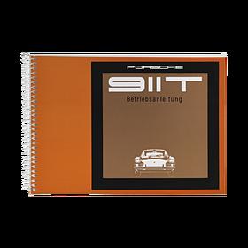 Porsche Instructieboekje voor 911 T (Duits) – modeljaar 1969
