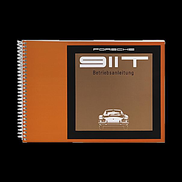 Porsche Instructieboekje voor 911 T (Engels) – modeljaar 1969
