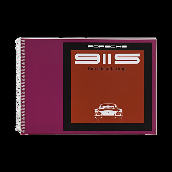 Porsche Instructieboekje voor 911 S (Duits) – modeljaar 1969