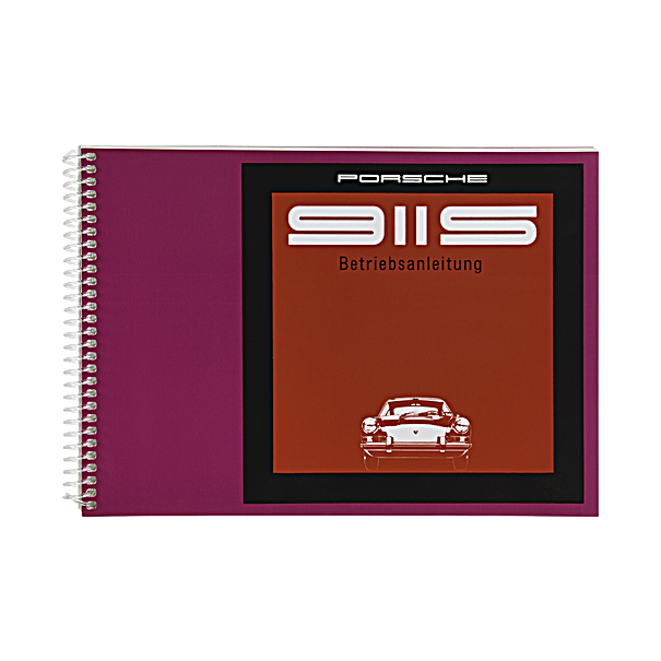 Porsche Instructieboekje voor 911 S (Engels) – modeljaar 1969