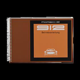 Porsche Instructieboekje voor 912 (Duits) – modeljaar 1969