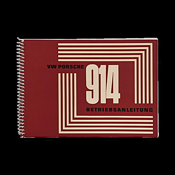 Porsche Instructieboekje voor 914 (Engels) – modeljaar 1970