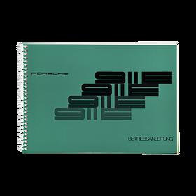 Porsche Instructieboekje voor 911 E (Duits) – modeljaar 1972