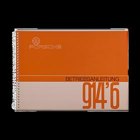 Porsche Instructieboekje voor 914/6 (Duits) – modeljaar 1972