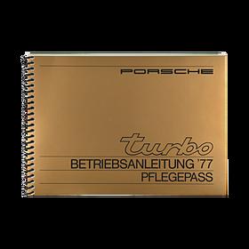 Porsche Instructieboekje voor 911 Turbo (DE) – modeljaar 1977