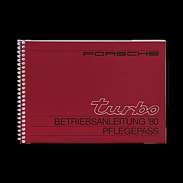 Porsche Instructieboekje voor 911 Turbo (Engels) – modeljaar 1980