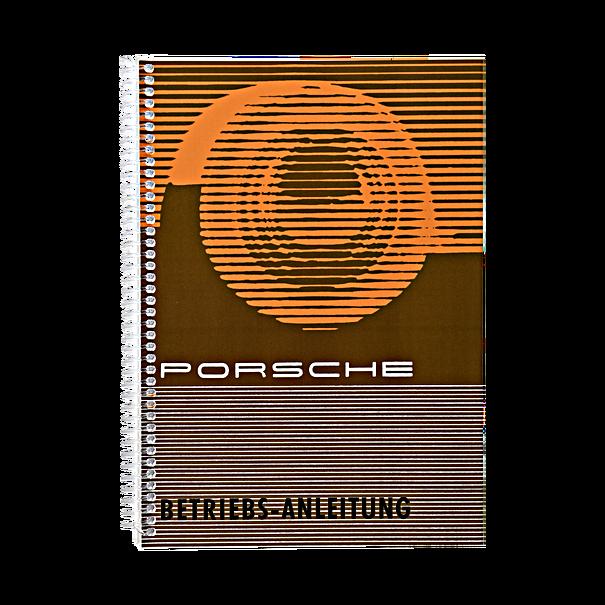 Porsche Instructieboekje voor 356 B T5 (Engels) – modeljaar 1959-1961