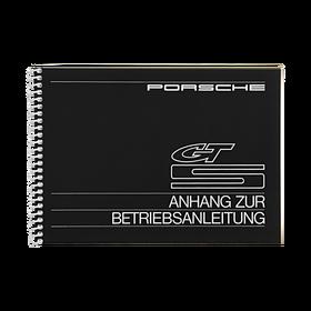 Porsche Instructieboekje voor 924 GTS (DE) – modeljaar 1981
