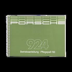Porsche Instructieboekje voor 924 (DE) – modeljaar 1983