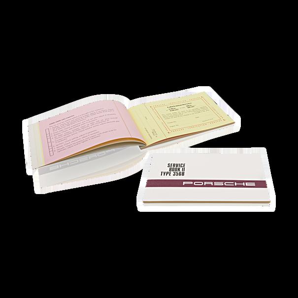 Porsche Service book 2, type 356 B