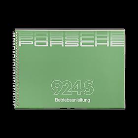 Porsche Instructieboekje voor 924S (Engels) – modeljaar 1986