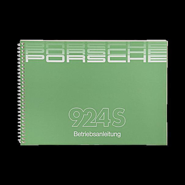 Porsche Instructieboekje voor 924S (Engels) – modeljaar 1987