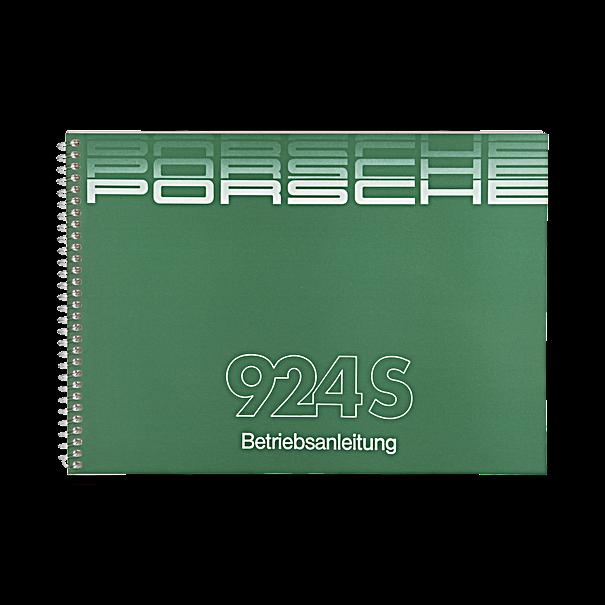 Porsche Instructieboekje voor 924S (Engels) – modeljaar 1988