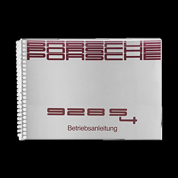 Porsche Instructieboekje voor 928 S4 (DE) – modeljaar 1989