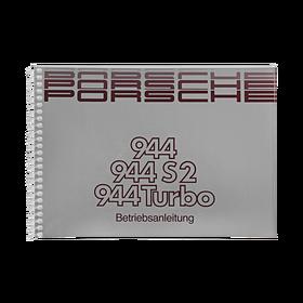 Porsche Instructieboekje voor 944 II, 944 S2, 944 Turbo (Duitstalig) – modeljaar 1989